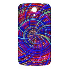 Happy Red Blue Samsung Galaxy Mega I9200 Hardshell Back Case