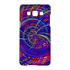 Happy Red Blue Samsung Galaxy A5 Hardshell Case