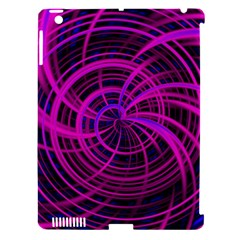 Happy, Black Pink Apple iPad 3/4 Hardshell Case (Compatible with Smart Cover)