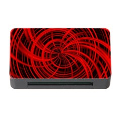 Happy, Black Red Memory Card Reader with CF