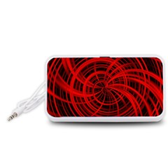 Happy, Black Red Portable Speaker (White)