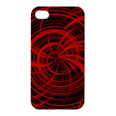 Happy, Black Red Apple iPhone 4/4S Premium Hardshell Case