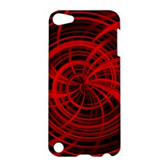Happy, Black Red Apple iPod Touch 5 Hardshell Case