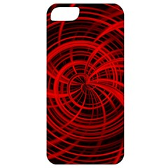 Happy, Black Red Apple iPhone 5 Classic Hardshell Case