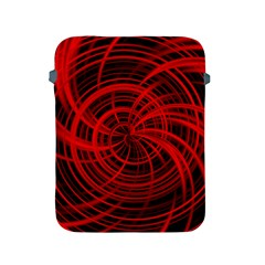 Happy, Black Red Apple iPad 2/3/4 Protective Soft Cases