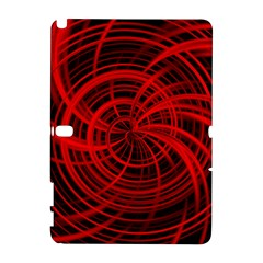 Happy, Black Red Samsung Galaxy Note 10.1 (P600) Hardshell Case