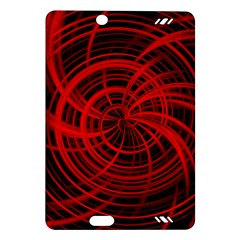 Happy, Black Red Kindle Fire HD (2013) Hardshell Case