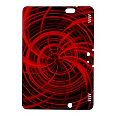 Happy, Black Red Kindle Fire HDX 8.9  Hardshell Case