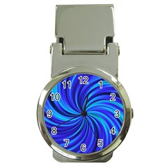 Happy, Blue Money Clip Watches