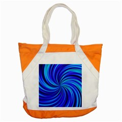 Happy, Blue Accent Tote Bag