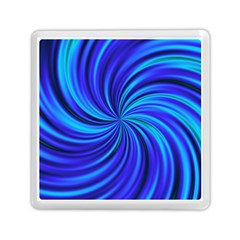 Happy, Blue Memory Card Reader (Square)