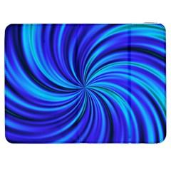 Happy, Blue Samsung Galaxy Tab 7  P1000 Flip Case
