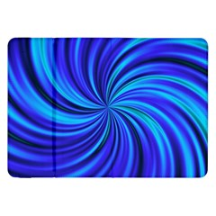 Happy, Blue Samsung Galaxy Tab 8.9  P7300 Flip Case
