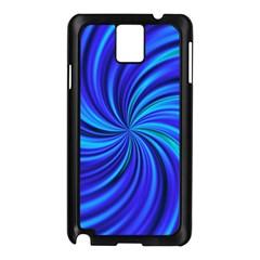 Happy, Blue Samsung Galaxy Note 3 N9005 Case (Black)