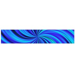 Happy, Blue Flano Scarf (large)
