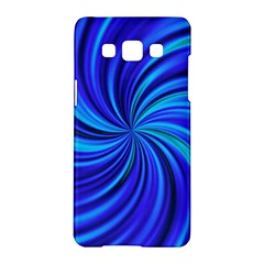 Happy, Blue Samsung Galaxy A5 Hardshell Case