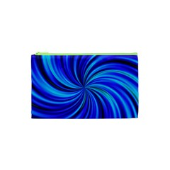 Happy, Blue Cosmetic Bag (xs)