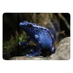 Blue Poison Arrow Frog Samsung Galaxy Tab 8.9  P7300 Flip Case