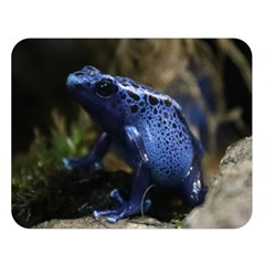 Blue Poison Arrow Frog Double Sided Flano Blanket (Large)