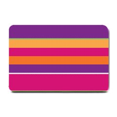 Jagged stripes Small Doormat