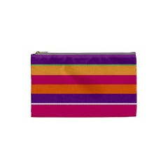 Jagged stripes Cosmetic Bag (Small)