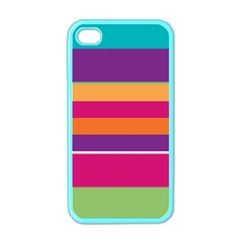 Jagged stripes Apple iPhone 4 Case (Color)