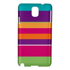 Jagged stripes Samsung Galaxy Note 3 N9005 Hardshell Case