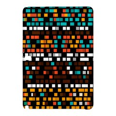 Squares pattern in retro colorsSamsung Galaxy Tab Pro 10.1 Hardshell Case