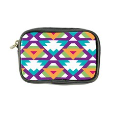 Triangles And Other Shapes Pattern Coin Purse