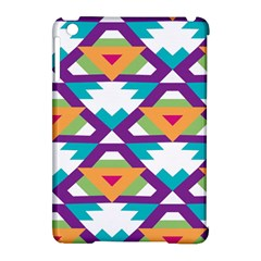Triangles and other shapes pattern Apple iPad Mini Hardshell Case (Compatible with Smart Cover)