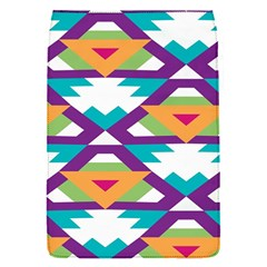 Triangles And Other Shapes Pattern Removable Flap Cover (s)