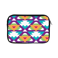 Triangles and other shapes pattern Apple iPad Mini Zipper Case