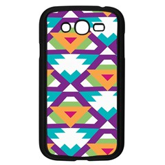 Triangles and other shapes pattern Samsung Galaxy Grand DUOS I9082 Case (Black)