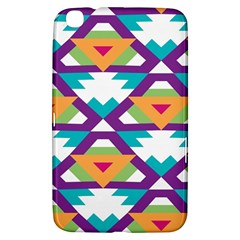Triangles and other shapes pattern Samsung Galaxy Tab 3 (8 ) T3100 Hardshell Case