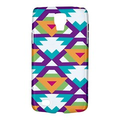 Triangles and other shapes pattern Samsung Galaxy S4 Active (I9295) Hardshell Case