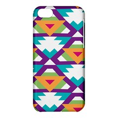 Triangles and other shapes pattern Apple iPhone 5C Hardshell Case