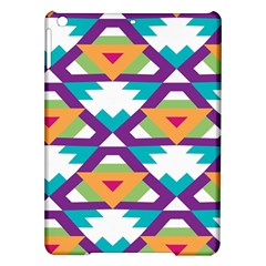 Triangles and other shapes pattern Apple iPad Air Hardshell Case