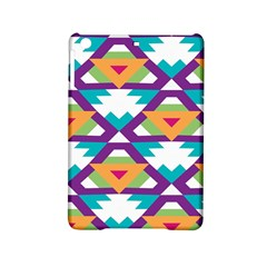 Triangles and other shapes pattern Apple iPad Mini 2 Hardshell Case