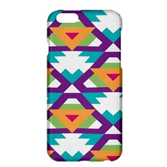 Triangles And Other Shapes Pattern	apple Iphone 6 Plus Hardshell Case