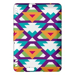 Triangles and other shapes patternKindle Fire HDX Hardshell Case