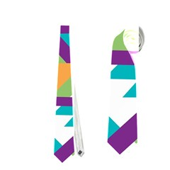 Triangles And Other Shapes Pattern Necktie