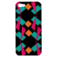 Shapes in retro colors  Apple iPhone 5 Hardshell Case