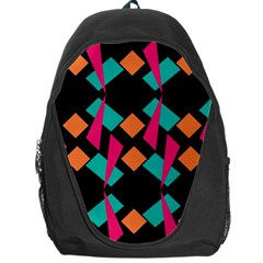 Shapes in retro colors  Backpack Bag