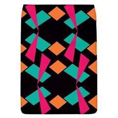 Shapes in retro colors  Removable Flap Cover (S)