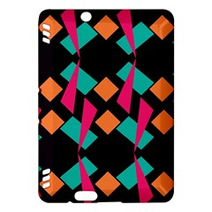 Shapes in retro colors  Kindle Fire HDX Hardshell Case