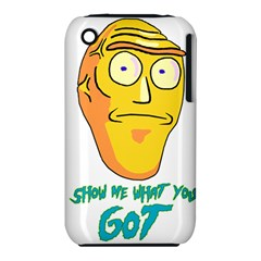 Show Me What You Got New Fresh Apple iPhone 3G/3GS Hardshell Case (PC+Silicone)