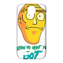 Show Me What You Got New Fresh Samsung Galaxy S4 Classic Hardshell Case (PC+Silicone)