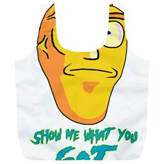 Show Me What You Got New Fresh Full Print Recycle Bags (l)