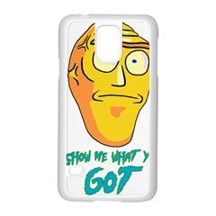 Show Me What You Got New Fresh Samsung Galaxy S5 Case (White)