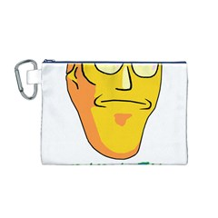 Show Me What You Got New Fresh Canvas Cosmetic Bag (M)